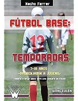 Fútbol base. 12 temporadas (7-18 AÑOS) PREBENJAMÍN - JUVENIL: Propuesta de temario a largo plazo para una cantera de fútbol