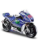 MAISTO 1:10 YAMAHA FACTORY RACING Diecast Motorcycle-BLUE