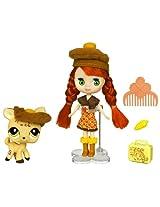 Littlest Pet Shop Blythe and Pet - Autumn Glam