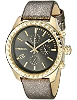 Diesel Kray Kray Chronograph Gold Dial Women's Watch - DZ5489
