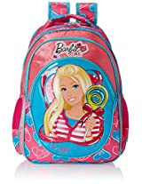 Barbie Pink and Blue Children's Backpack (EI-MAT0021)