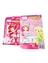 Strawberry Shortcake Pop Outz Outs Grab Bag Take N Play 2pc Bundle