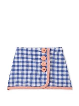 Upper School Girl's Wrap Skirt (Midnight Blue)