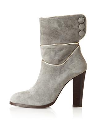 Paul & Joe Women's Isaure Seamed Detail Mid Boot (Grey)