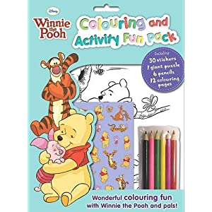 Disney Winnie the Pooh - Colouring and Activity Fun Pack (Disney Fun Pack)