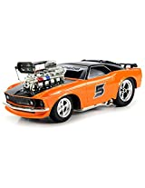 Saffire Super 5 Ford Mustang Boss 429 Remote Control RC Muscle Car 1:16 Scale with Working Head & Tail Lights