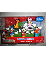 Mickey Mouse Clubhouse Mickey & Friends 5 Pack - Mickey Minnie Donald Duck Goofy Pluto