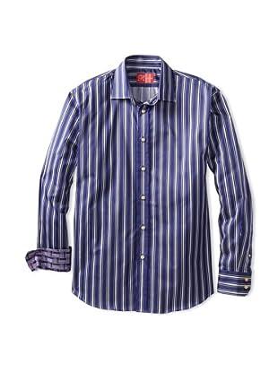 Rufus Men's Button-Up Shirt (Multi Stripe)