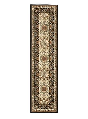 Oriental Garden Rug, Gray, 2' x 7' 7