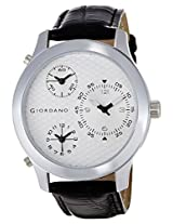 Giordano Analog White Dial Men's Watch - 60067 WHITE