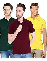 Concepts Men's Casual Shirt (TSHT_C3_YWMRBG_Multi_38)