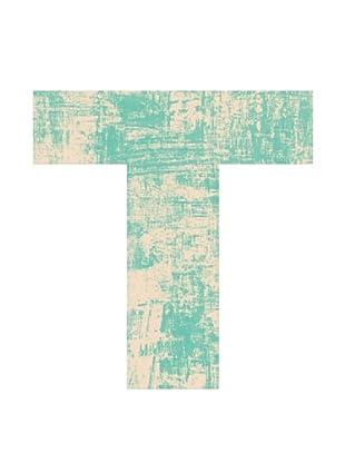 Letra Decorativa Letra T