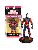 Dc Direct Year 2007 Dc Comics Series 4 First Appearance 6 1/2 Inch Tall Collector Action Figure The Atom With Display Base