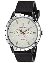 Optima Analog White Dial Men's Watch - OFT-2462 WH
