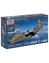 Minicraft C-130B USAF with 2 Marking Options Model Kit, 1/144 Scale