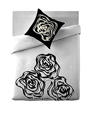 Devota & Lomba Juego de Funda Nórdica Rosas  135 x 200 + 1 F. cojin 80x80