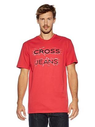 Cross Jeans T-Shirt (Koralle)