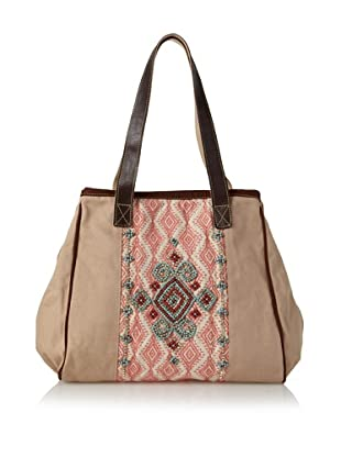 Mare Sole Amore Women's Athens Tote Bag (Camel)