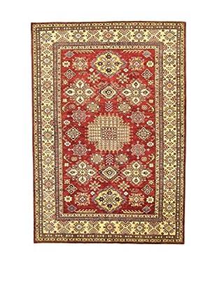 L'Eden del Tappeto Teppich Kazak Super rot/mehrfarbig 263t x t181 cm