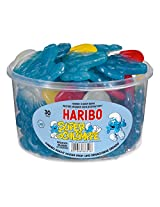Haribo Die Schluempfe (Smurf Gummi Candy) Tub (150 pcs)