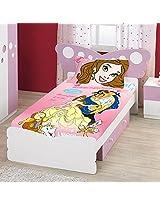 Bombay Dyeing Kids Pink Single Bed Sheet Set