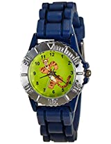 Disney Analog Multi-Color Dial Boys's Watch - LP-1010 (Dark Blue)