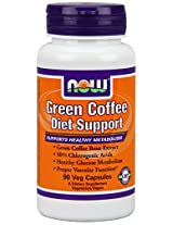 Now Foods Green Coffee Diet Support Veg Capsules, 90 Count