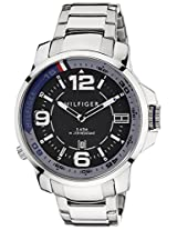 Tommy Hilfiger Analog Black Dial Men's Watch - TH1791012J