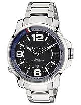 Tommy Hilfiger Analog Black Dial Men's Watch - TH1791012J