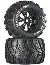 Duratrax Hatchet MT 3.8 Mounted Tyre (Set of 2), Black