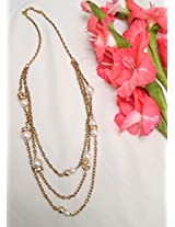 No Strings Attached Pearl Strings Necklace