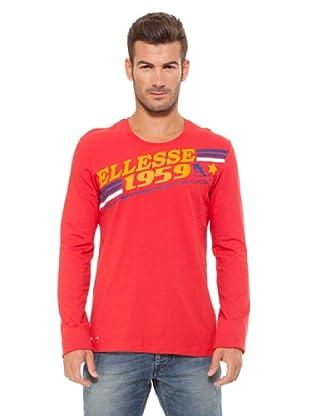 Ellesse Camiseta Graphic (Rojo)