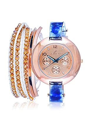 Arm Candy Women's NXS5295Q-NB Blue/Rose Stainless Steel/Metal Watch
