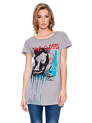 Fornarina Camiseta Could Stretch (Gris)