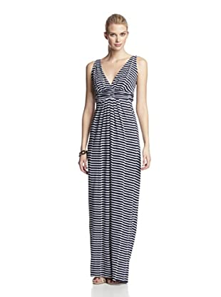 Tart Women's Belfort Maxi Dress (Navy Stripe)