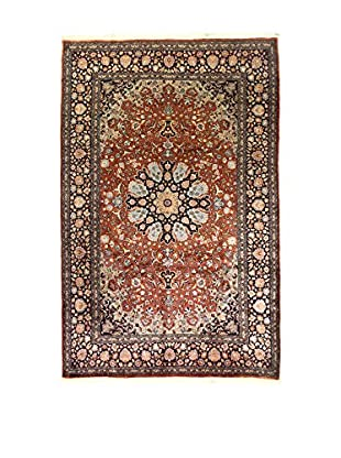 L'Eden del Tappeto Teppich Kashmir rot/mehrfarbig 281t x t188 cm