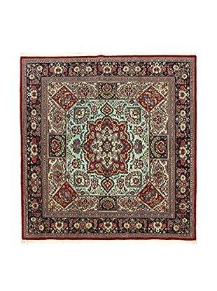 L'Eden del Tappeto Teppich Qom Sh rot/mehrfarbig 195t x t200 cm