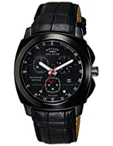 Rotary Analog Black Dial Men's Watch-EGS00003TZ104