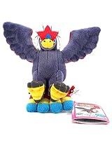 "Banpresto My Pokemon Collection Best Wishes Mini Plush - 47466 - 5"" Braviary/Warrgle"
