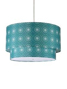 Inhabit Hudson Double Pendant Lamp (Dark Cornflower)