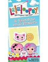 Paper Magic Lala Loopsy Valentine Exchange Cards with Bonus Eraser (16 Count)
