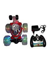 Angry Birds Rechargeable RC Stunt Car Racing 360 Degree Spin Tumbling With LED Lights