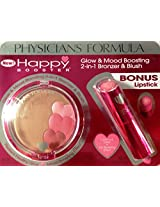 Happy Booster Glow & Mood Boosting Bronze & Blush Bronze/rose Plus Bonus Lipstick