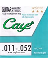 CAYE ACCOUSTIC 1ST NO.STRING IMPORTED , PACK OF 10 STRING.