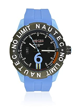 Nautec No Limit Reloj de cuarzo Man ZY2-B QZ/PCPCBKBK-BL  48 mm