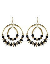 Beautiful Round Cut Beads Designer Earrings By Lazreena