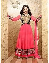 party wear Rimi Sen Brink Pink salwar suits QN 109