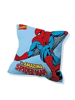 Euromoda Licencias Cojín con Relleno Spiderman  3 (Azul / Rojo)
