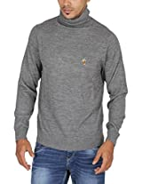 US Polo Assn. Men's Jacket (USSW0409_Grey_L)