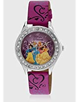 Aw100222 Pink/Pink Analog Watch Disney
